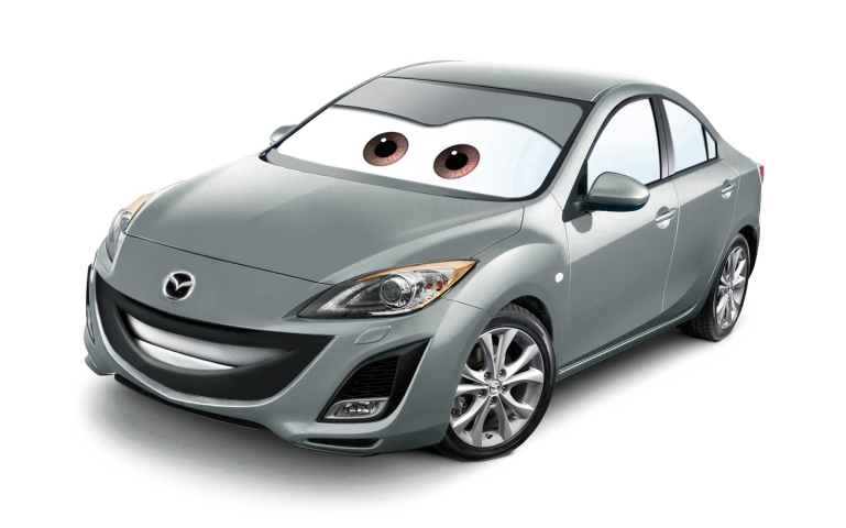 Gambar wallpaper mobil Mazda 3 2009