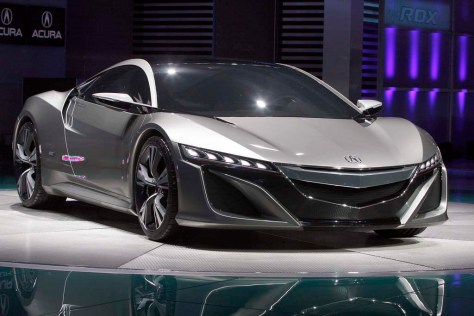 2012 Acura NSX Roadster Concept
