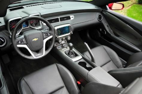 2014 Chevrolet Camaro SS Convertible (2)