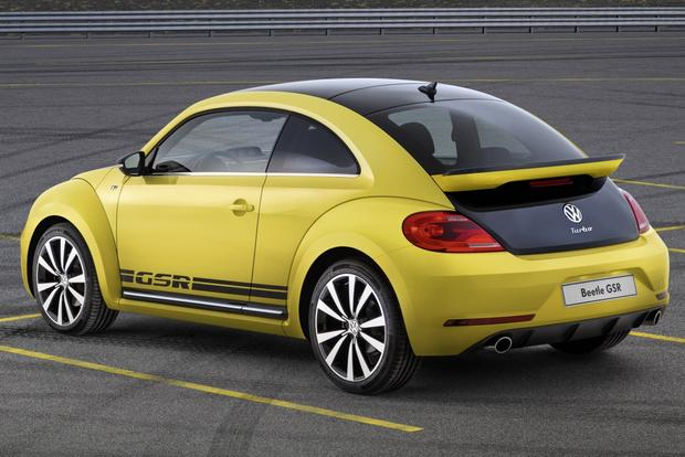 2014 Volkswagen Beetle Rear