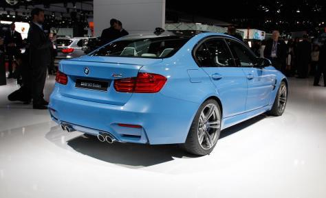 2015 BMW M3 Sedan (3)