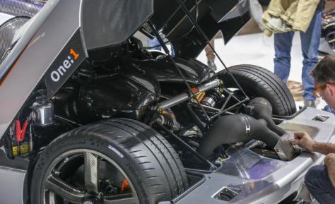 Koenigsegg one1 Engine