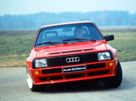 1984 Audi Quattro Sport 2.2 T 3