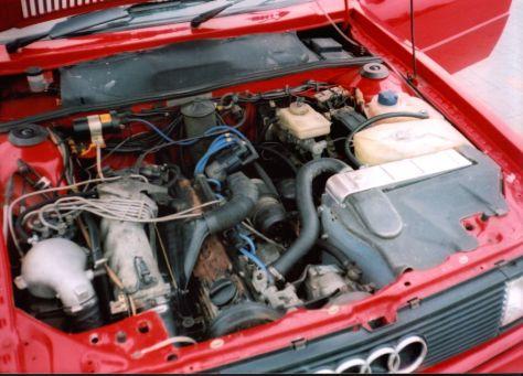 1984 Audi Quattro Sport 2.2 T 4