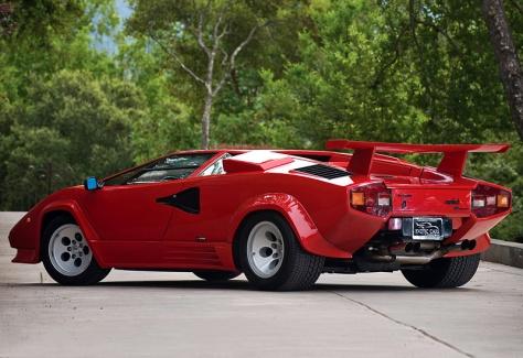 1985 Lamborghini Countach LP5000 S Quattrovalvole