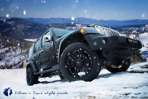 2014 Jeep Wrangler Sahara 4