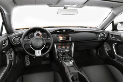 2015 Toyota GT 86 Interior
