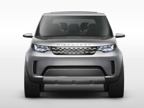 Land Rover Discovery Vision - Depan