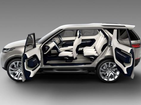 Land Rover Discovery Vision Interior 2