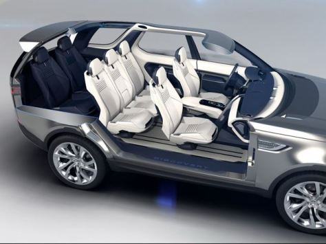 Land Rover Discovery Vision Interior