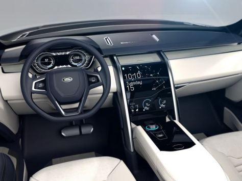 Land Rover Discovery Vision - Kursi Depan