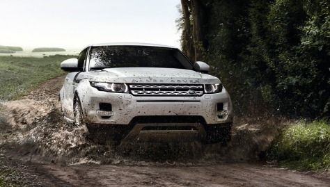 Land Rover Evoque Front