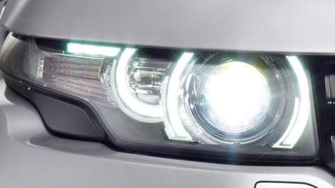 Land Rover Evoque Lampu
