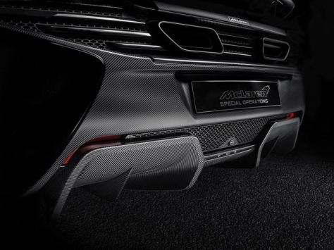 McLaren Special Operation 650S Coupe Concept Rear